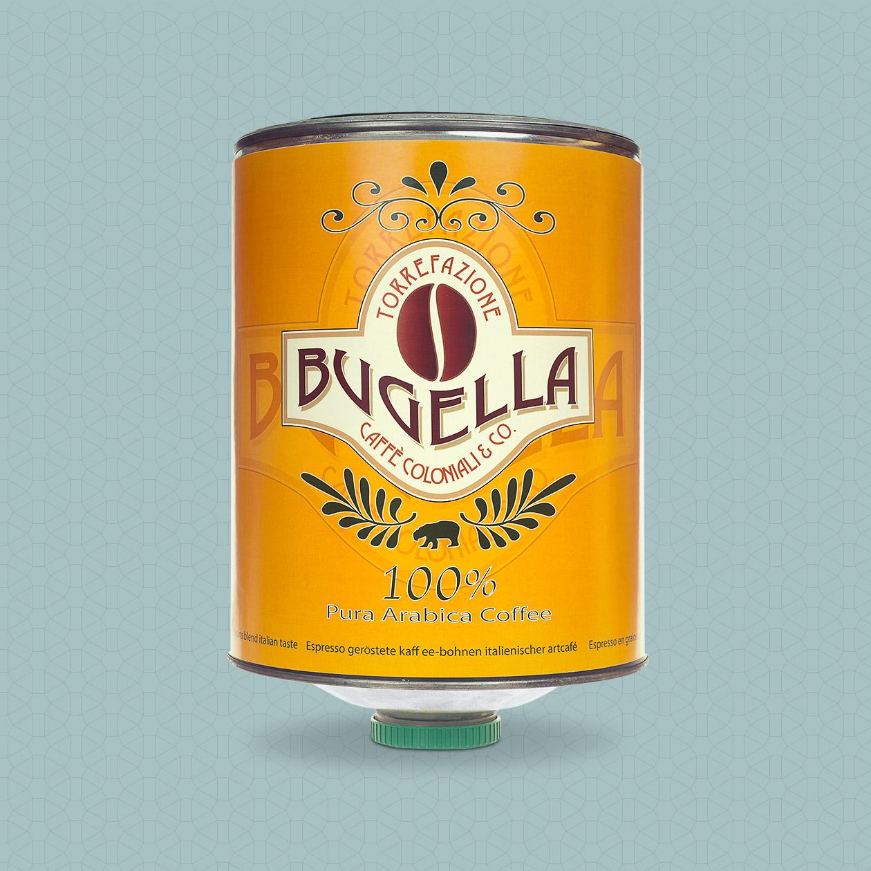 Bugella Galerie Kaffeedose 100% Arabica