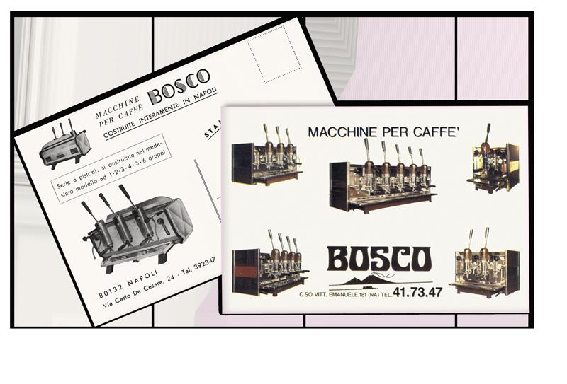 bosco vintage cards