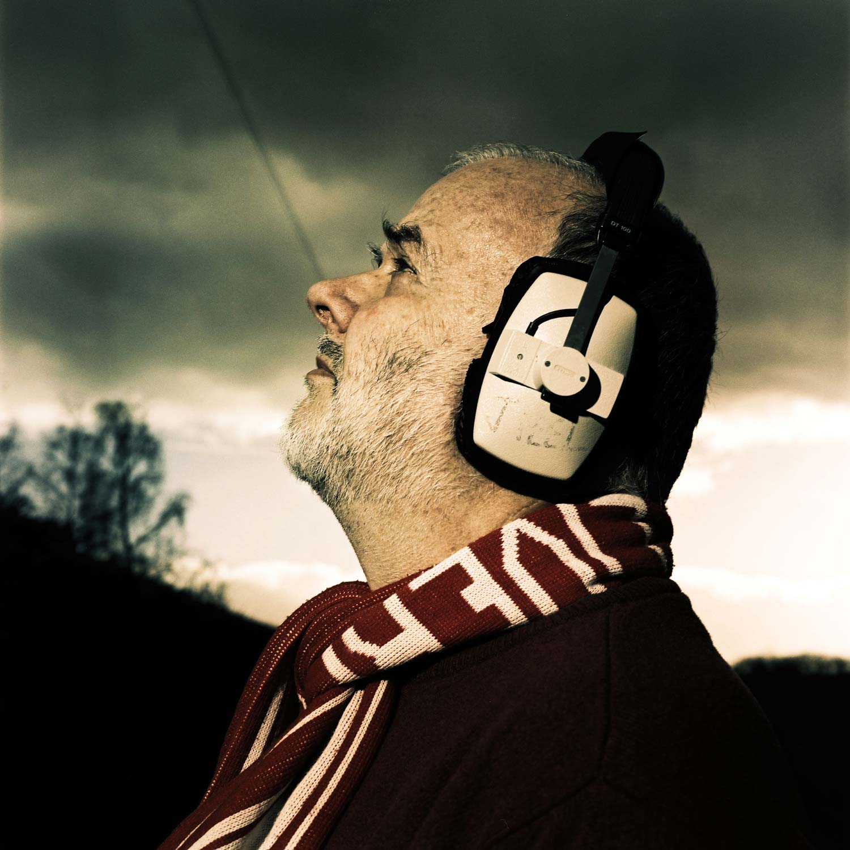 John Peel Blick in den Himmel