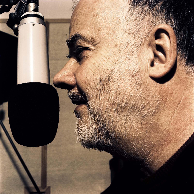 John Peel am Mikrofon