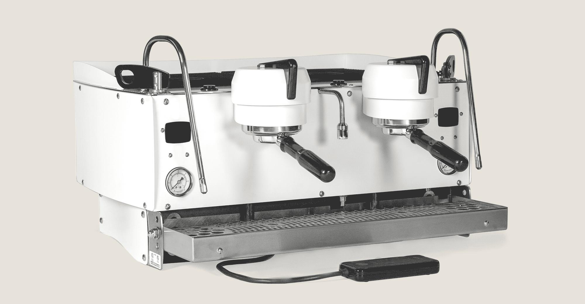 synesso machine white